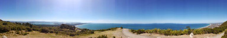 マウントマウンガヌイ タウランガ 丘からの眺め