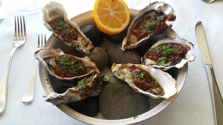 ニュージーランド オークランド バイアダクト 牡蠣