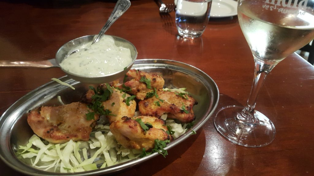 ニュージーランド インド料理 リトルインディア チキン