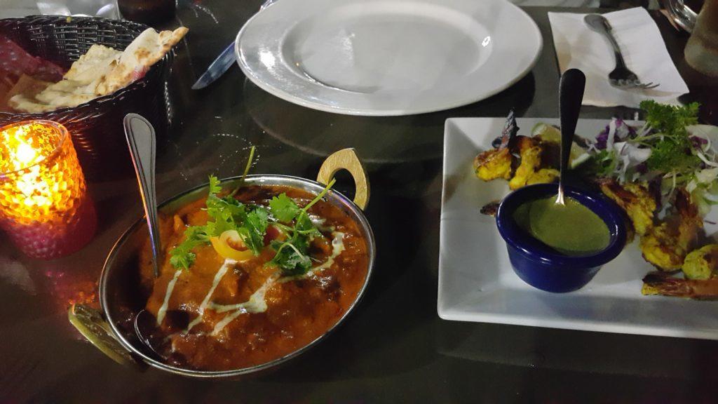 フィジーデナラウ港 レストラン インディゴ インドカレー