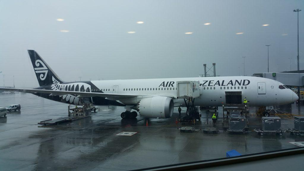 ニュージーランド航空 航空機
