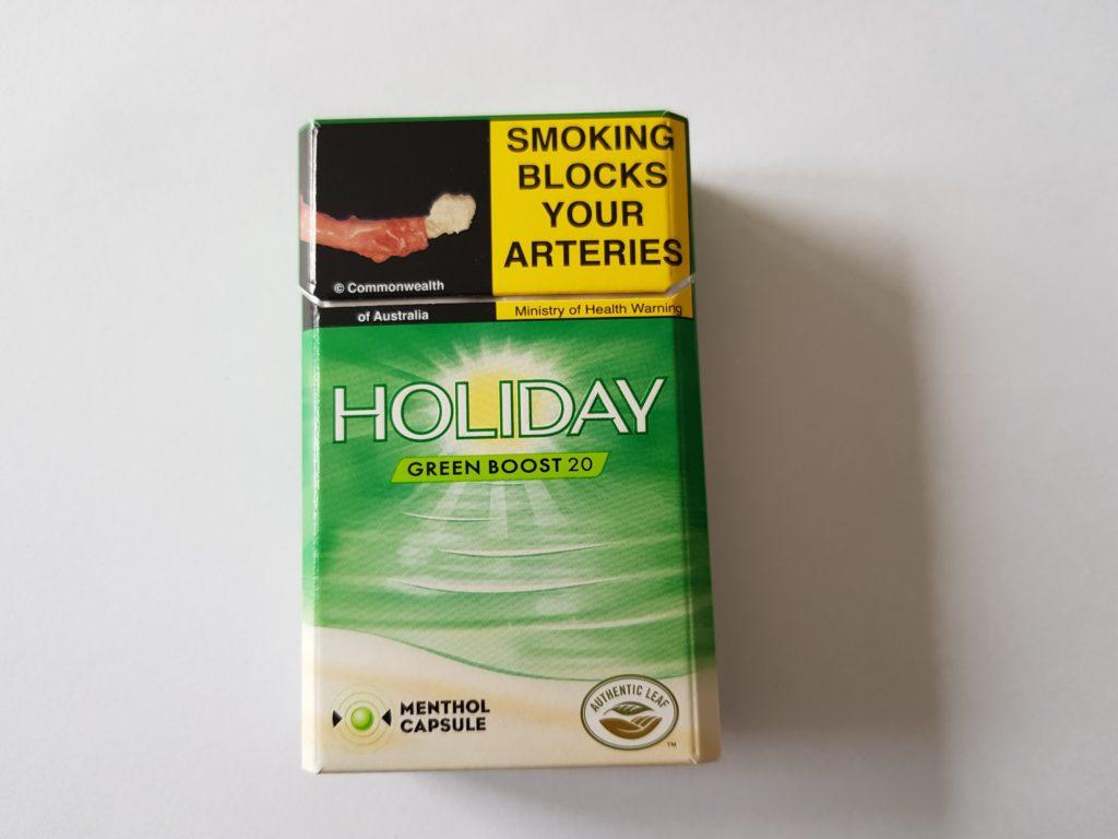 ニュージーランド たばこパッケージ前