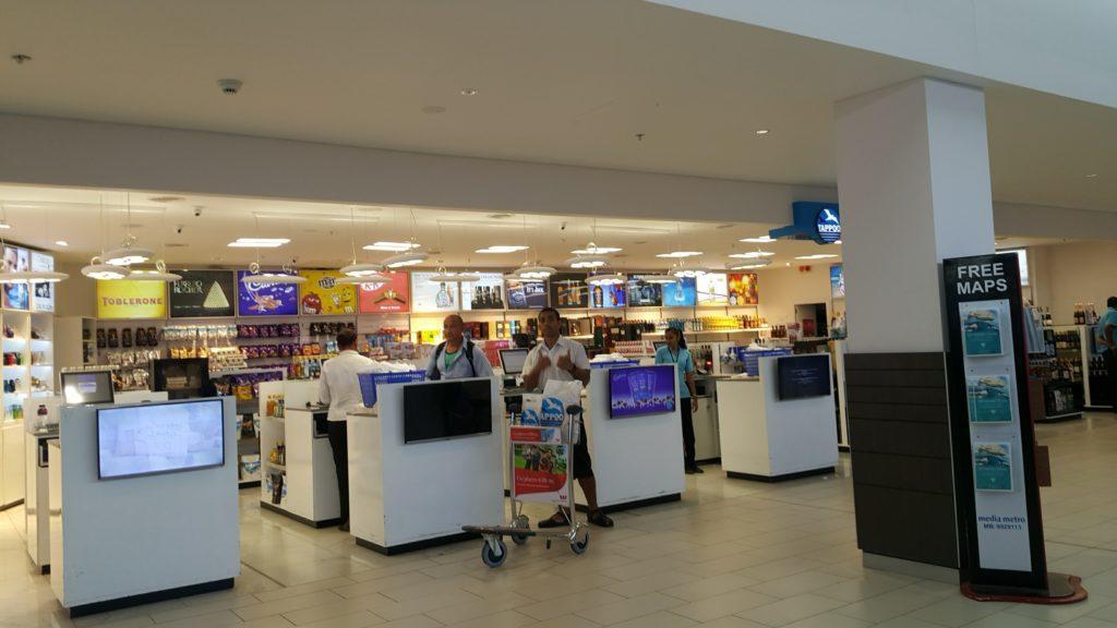フィジーナンディ空港免税店