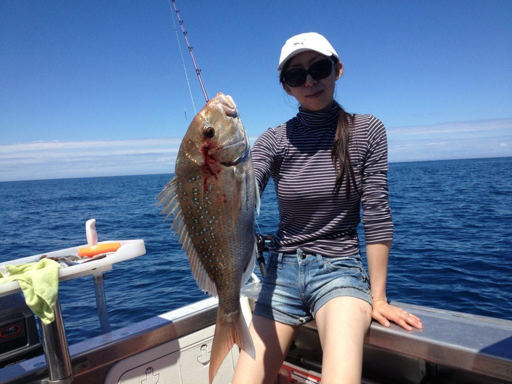 ラグラン船釣り 鯛