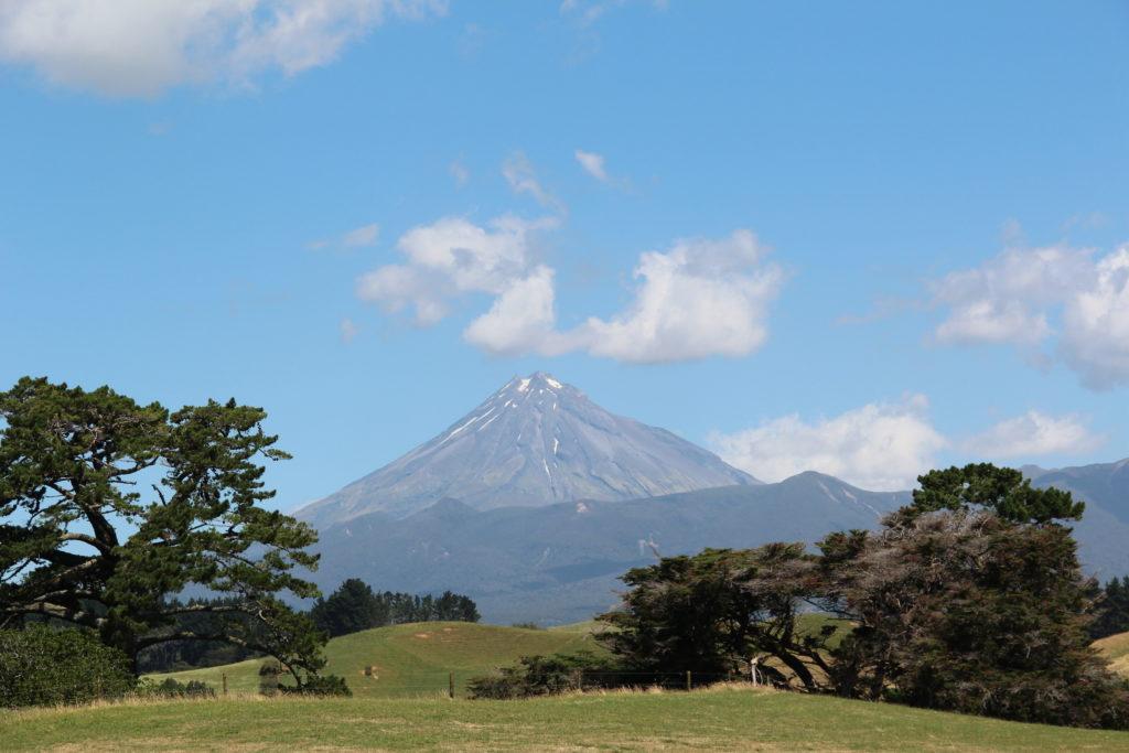 ニュージーランド北島 ニュープリマス エグモント山