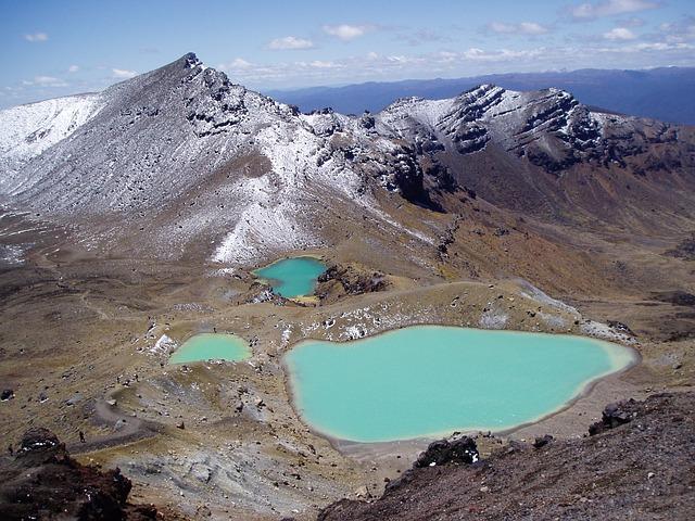 ニュージーランド トンガリロ国立公園