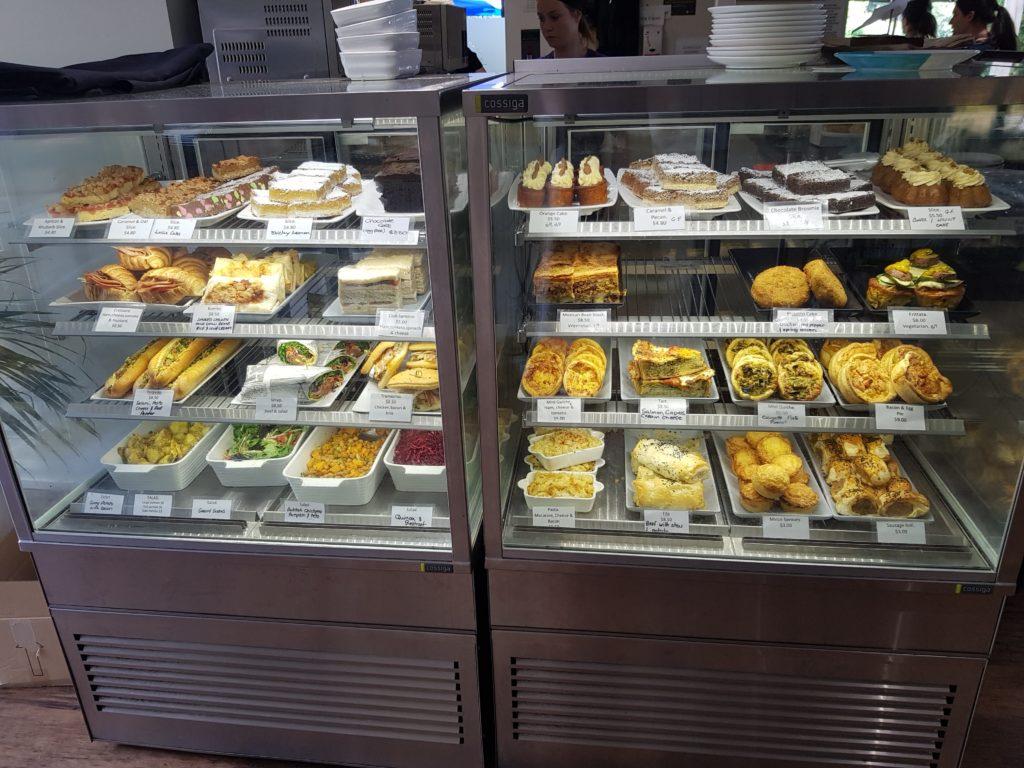ハミルトンガーデンカフェの軽食・スイーツ