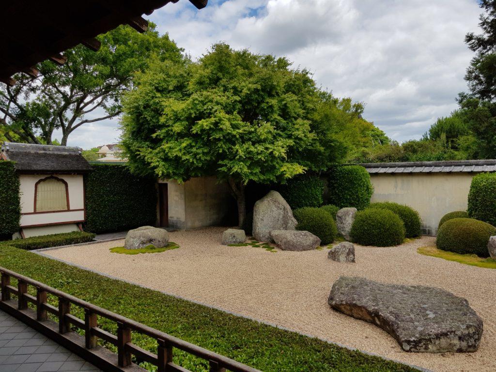 ハミルトンガーデン日本庭園