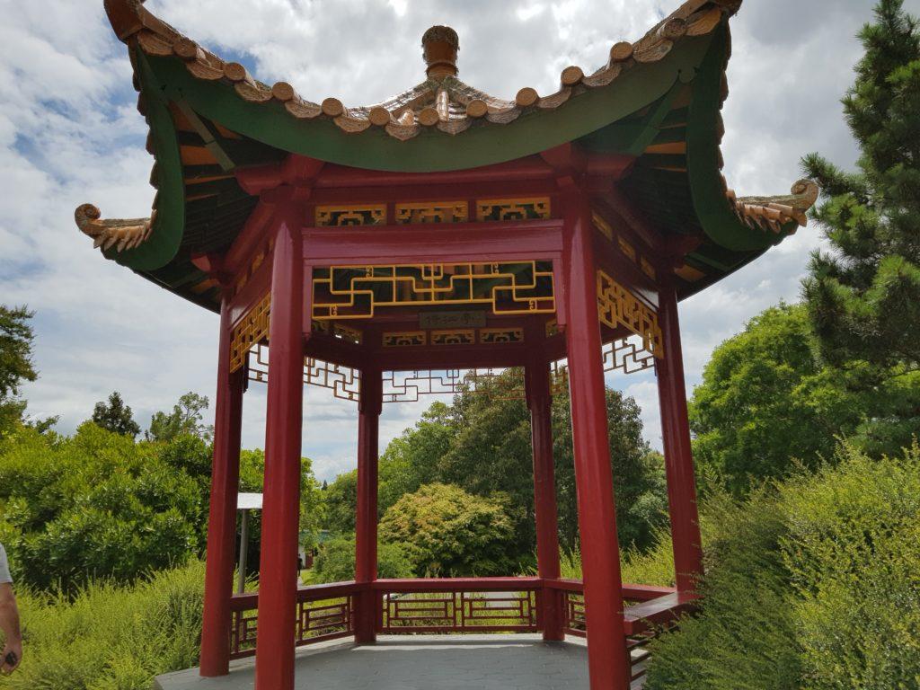 ハミルトンガーデン中国学者庭園
