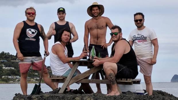 ニュージーランド コロマンデル半島 タイルア