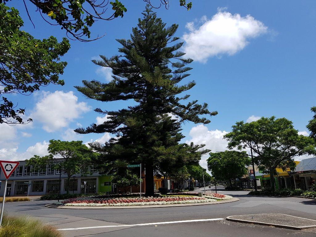 ニュージーランド ラウンドアバウト