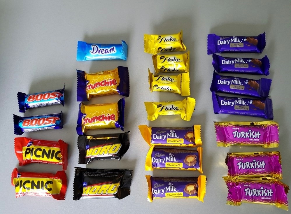 カドバリー フェイバリット ニュージーランド チョコレート 中身