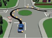 ニュージーランドの運転ラウンドアバウト