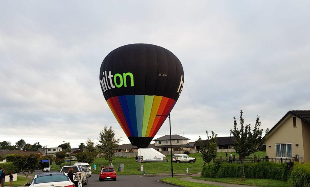 ニュージーランド ハミルトン熱気球