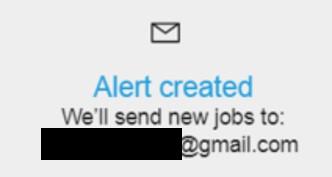 SEEK Eメール通知設定確認