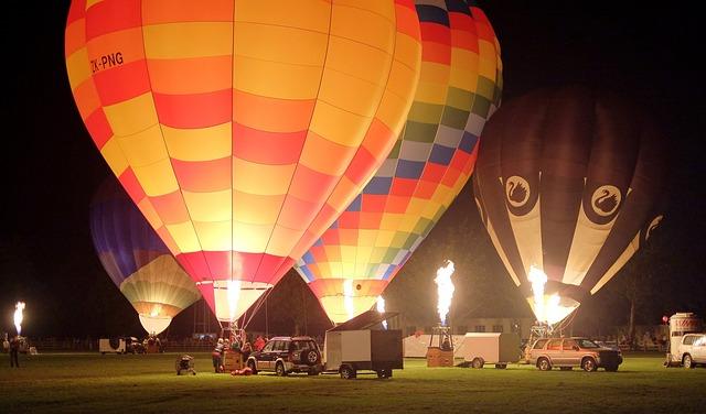 ワイカト 熱気球イベント